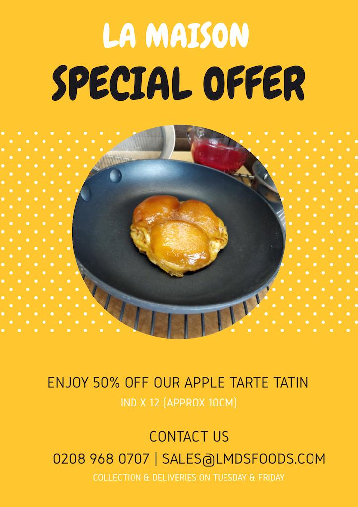 SP offer-APPLE TARTE TATIN